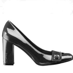 Isaac Mizrahi for Target Black Patent Leather Pump